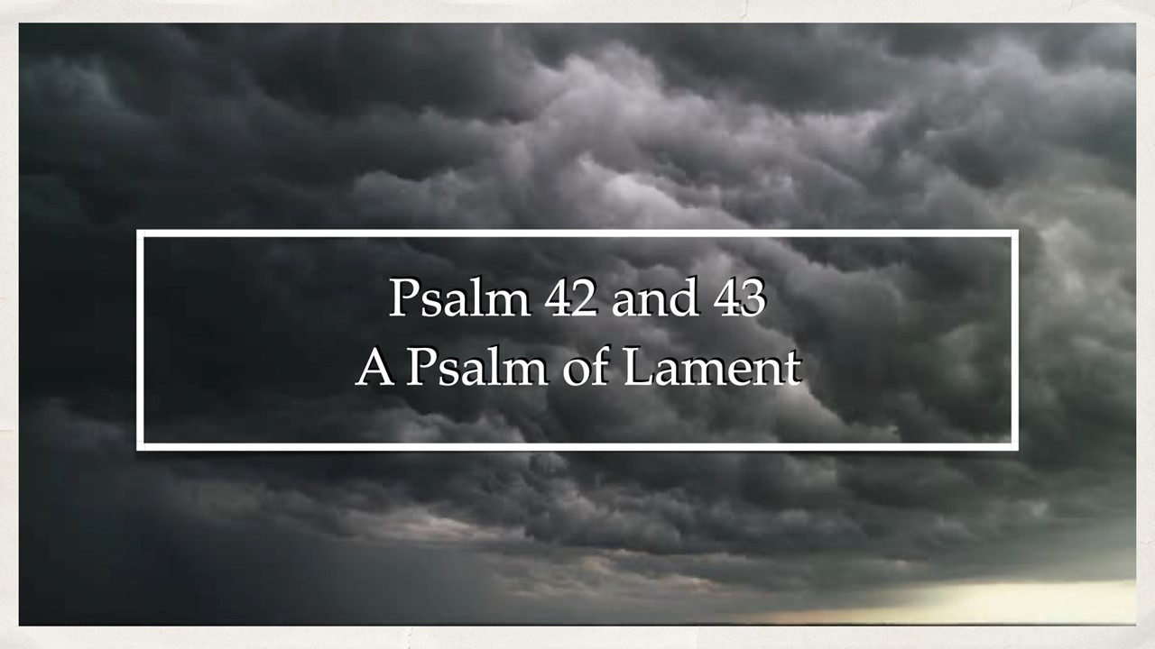 A Psalm of Lament